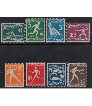 212 - 219 Olympiadezegels (xx)