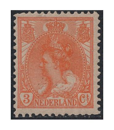 056 Koningin Wilhelmina (xx) lees! 2.
