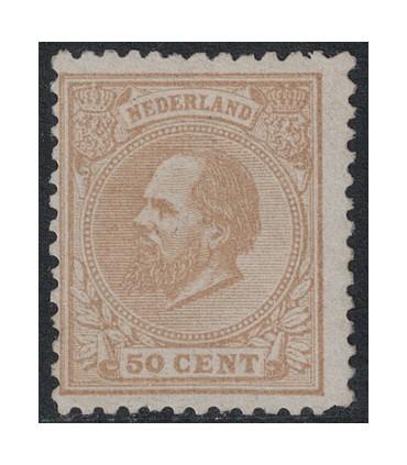 027 Koning Willem III (xx) nagegomd