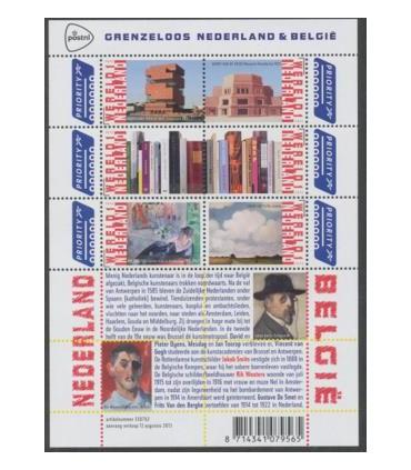 3089 - 3094 Grenzeloos Nederland-België A (xx)