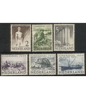 550 - 555 Zomerzegels (xx)
