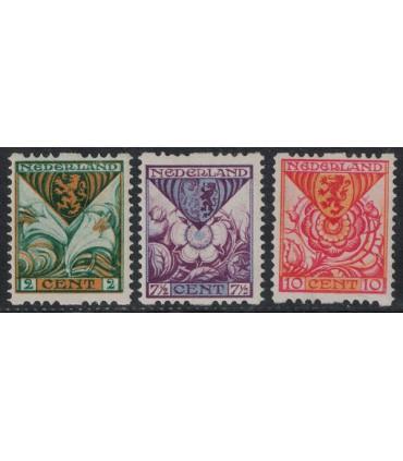 R71 t/m R73 Kinderzegels (xx)