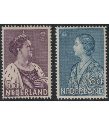 265 - 266 Crisiszegels (xx)