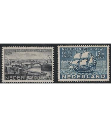 267 - 268 Herdenkingszegels (xx)