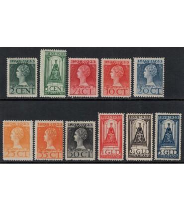 121 - 131 Jubileumzegels (xx) 2.