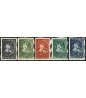 300 - 304 Kinderzegels (x)