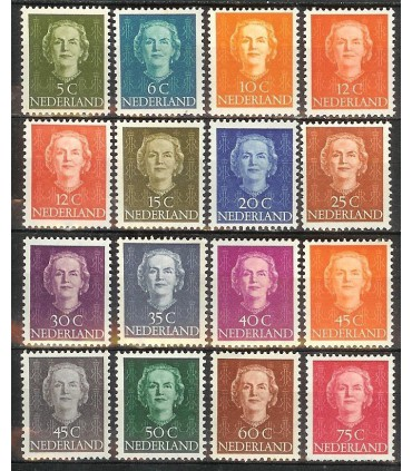 518 - 533 Koningin Juliana (Hartz) (xx)