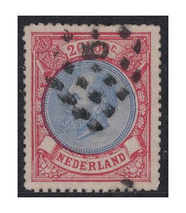 029 Koning Willem III (o) 1. medaillon