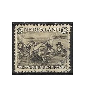 230 Rembrandt zegel (o)