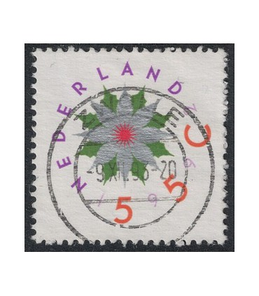 1542 Decemberzegel (o)
