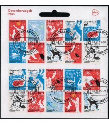 3363 - 3372 Decemberzegels (o)