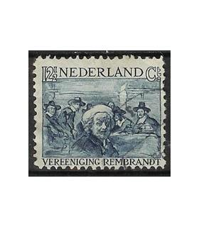 231 Rembrandt zegel (o)