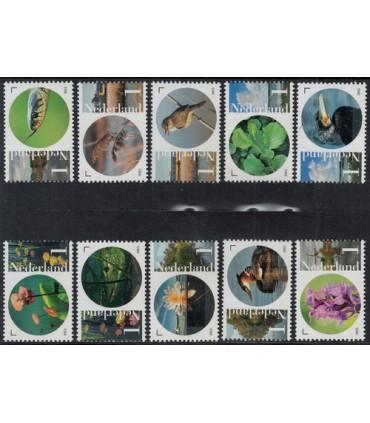 3289 - 3298 Flora en Fauna (xx)