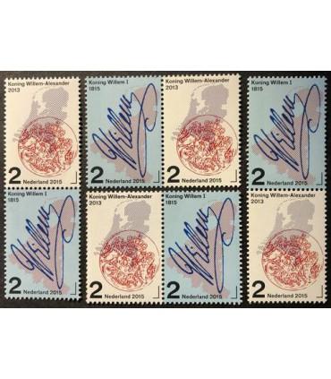 3273 - 3274  Koninkrijk der Nederlanden Willem I (xx)