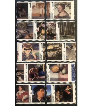 3038  -3047 Rijks Museum te Amsterdam (xx)