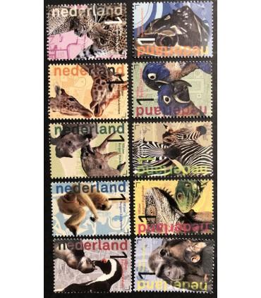 3028 - 3037 100 jaar Burgers Zoo Arnhem (xx)