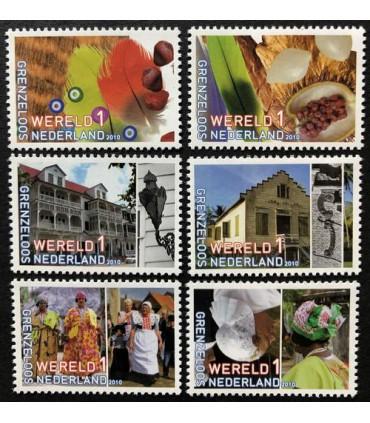 2752 - 2757 Nederland Suriname (xx)