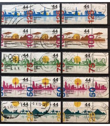 2708 - 2712 Jubileumzegels (o)