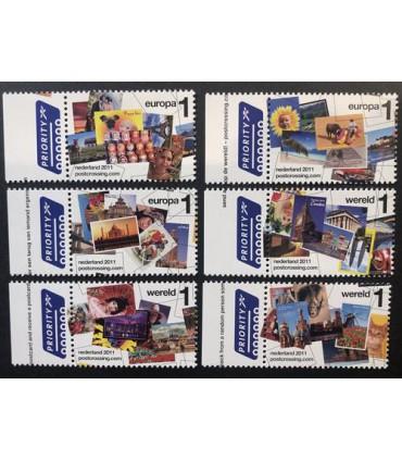 2879 - 2884 Postcrossing (xx)
