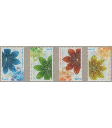 BZ37 - BZ40 bloemen (xx)