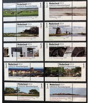 3209 - 3218 Werelderfgoed (xx)