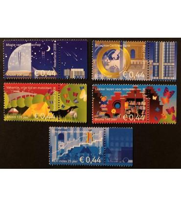 2571 - 2575 Jubileumzegels (xx)