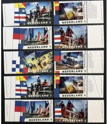 3303 - 3308 Volvo Ocean Race (xx) losse zegels