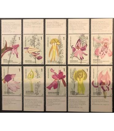 3175 - 3184 Orchidieen uit het Gerendal (xx) TAB