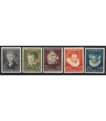 683 - 687 Kinderzegels (xx)