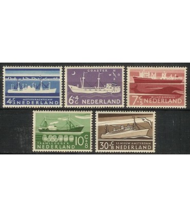 688 - 692 Zomerzegels (xx)