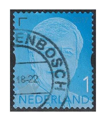 3598 Willem Alexander jaartal 2017 (o)