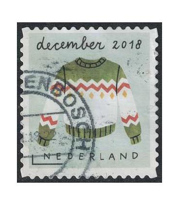 3701 Kerstzegel (o)