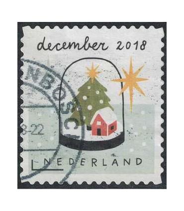3706 Kerstzegel (o)