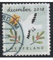 3707 Kerstzegel (o)