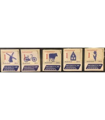 3150 - 3154 Nederlandse Iconen (xx)