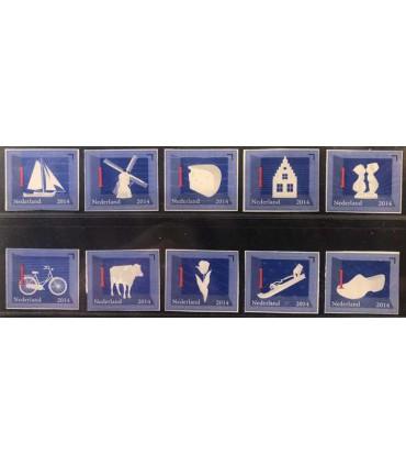 3140 - 3149 Nederlandse Iconen (xx)