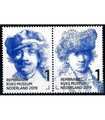 3723 - 3724 Rembrandt in het Rijksmuseum (xx)