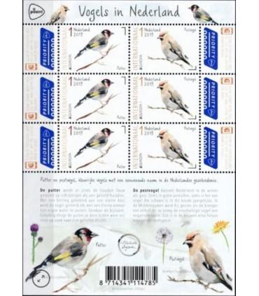 3738 - 3739 PostEurop Vogels (xx) vel