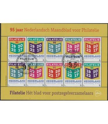 95 jaar maandblad Filatelie (o)