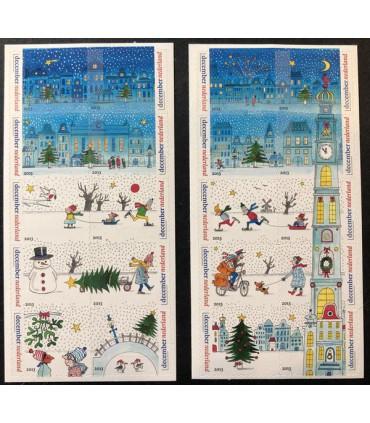 3113 - 3132 Decemberzegels (xx) 2x 1/2