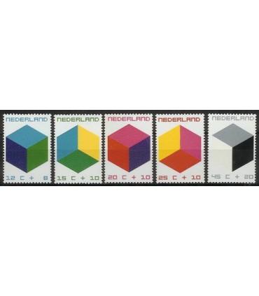 0978 - 0982 Kinderzegels (xx)