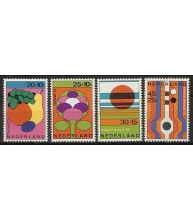 1003 - 1006 Zomerzegels (xx)