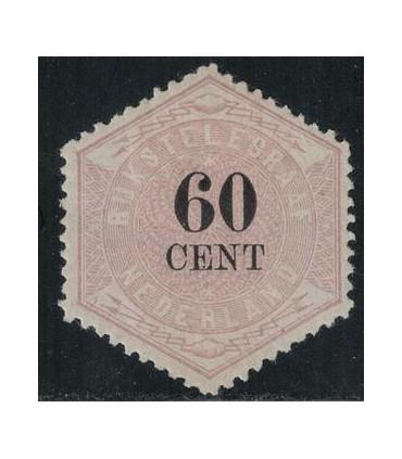 Telegramzegel 10 (x) 2. Certificaat