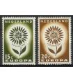 827 - 828 Europazegels (xx)