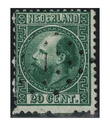 010 Koning Willem III (o) 4.