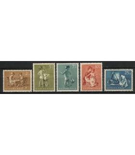 649 - 653 Kinderzegels (xx)