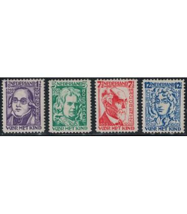 220 - 223 Kinderzegels (xx)