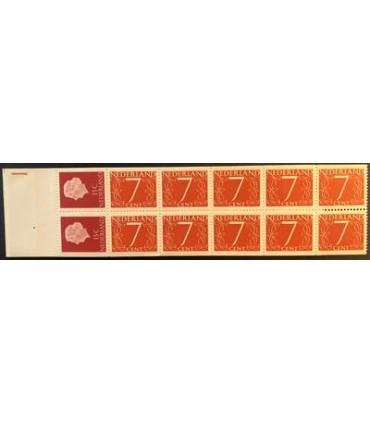 PB01Mz (xx) registerstreep geel-oranje