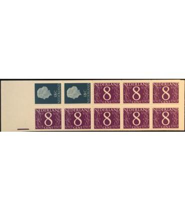 PB04za (xx) registerstreep paars