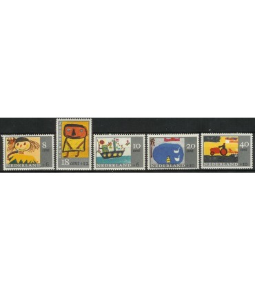 849 - 853 Kinderzegels (xx)